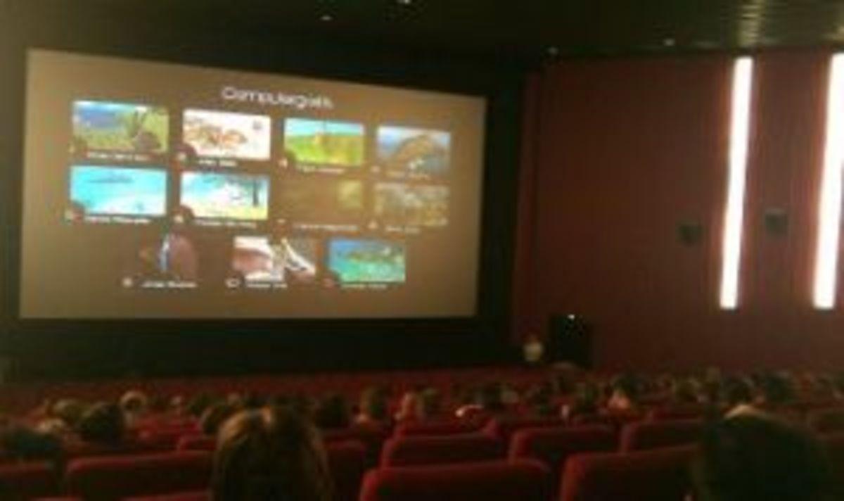Premiere des ITsax.de Trailers beim Mitschnitt Festival