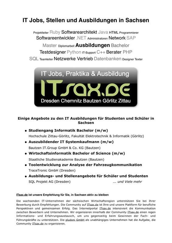 """KarriereStart 2011 - ITsax.de unterstützte das Motto """"Zukunft selbst gestalten"""""""