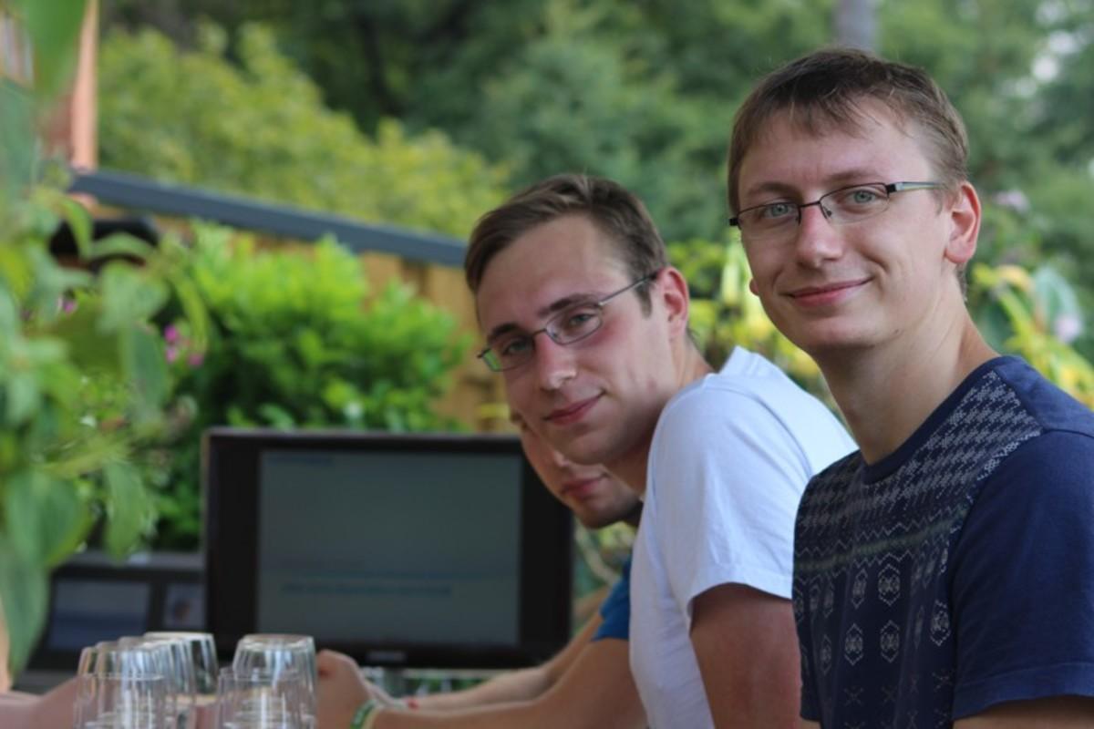 Sommerfest und Halbjahresreview des Pludoni-Teams