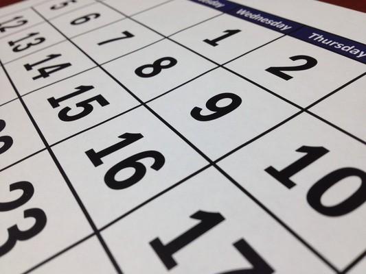 Block image calendar 660670