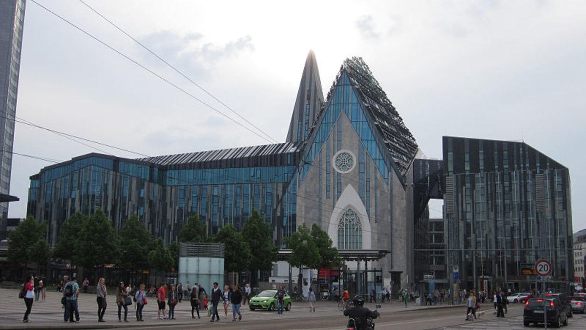 Zentrales Unigebäude Augusteum, Foto: Thomas W. Fiege