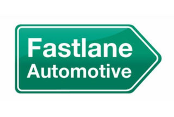 Block image fastlane automotive logo