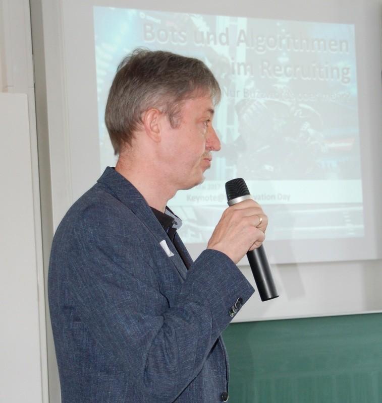 Gastgeber Prof. Wald; Quelle: HTKW Leipzig