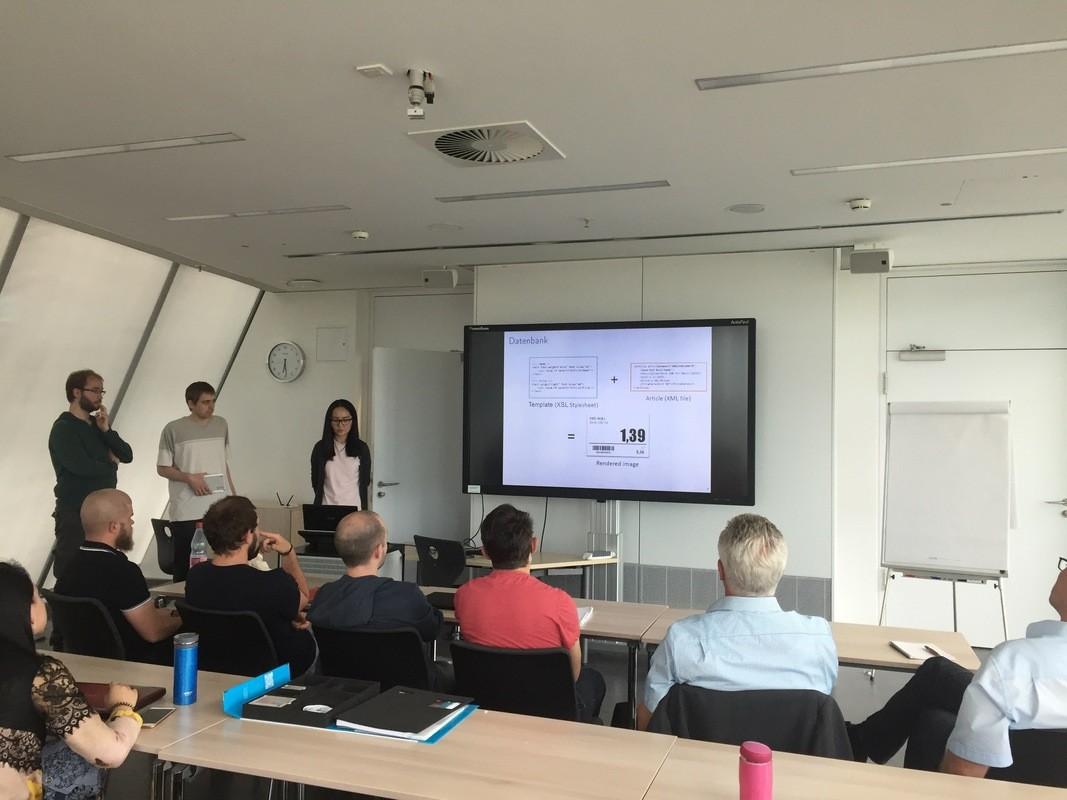 Präsentation der Business-Appder BE-terna GmbH (Quelle: Empfehlungsbund)