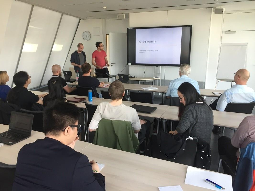 Vorstellung des Welbclienten für die forcont business technologie GmbH (Quelle: Empfehlungsbund)