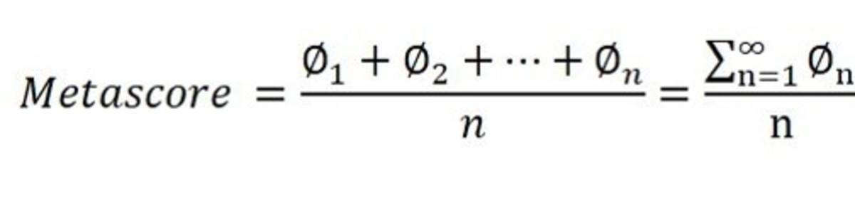 Formel für Berechnung der Metabewertung
