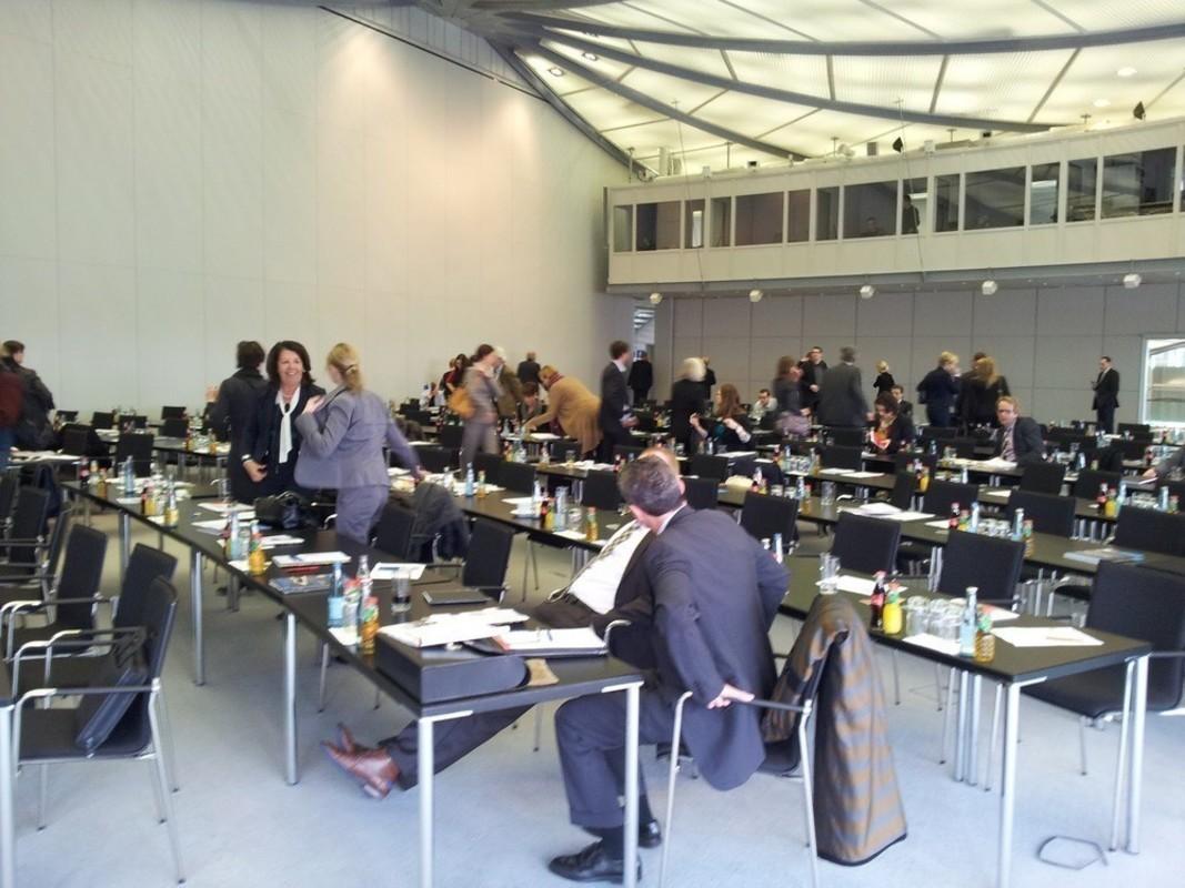 Eingeladen waren verschiedene Personalmanager aus IT Unternehmen in Deutschland