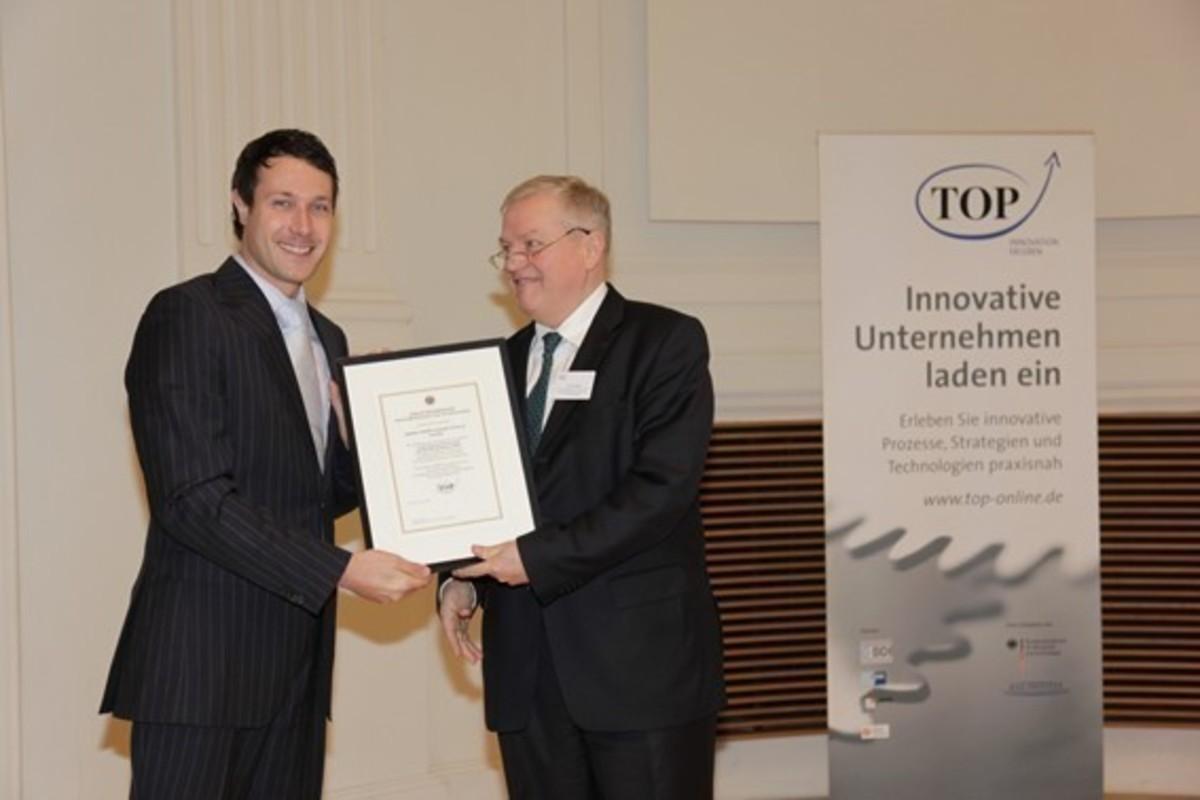 pludoni GmbH ausgezeichnet als innovatives Unternehmen von der Initiative TOP-Projekte des F.A.Z. Institutes
